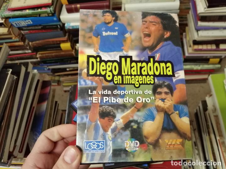 Coleccionismo deportivo: DIEGO ARMANDO MARADONA EN IMÁGENES . 4 DVDS . NÁPOLES, BARCELONA , ARGENTINA, BOCA JUNIORS. FÚTBOL - Foto 5 - 244704535