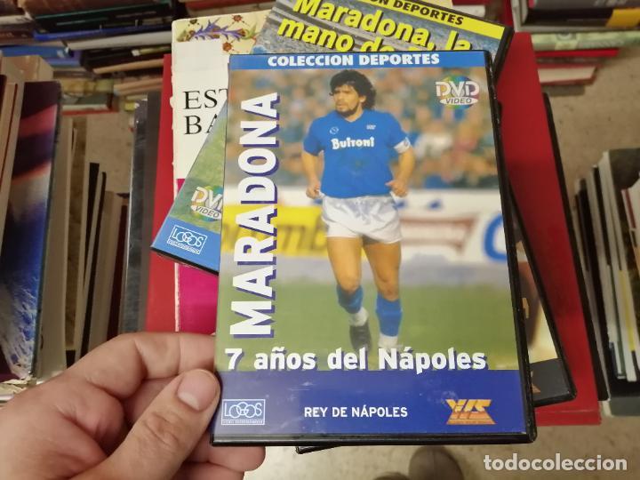 Coleccionismo deportivo: DIEGO ARMANDO MARADONA EN IMÁGENES . 4 DVDS . NÁPOLES, BARCELONA , ARGENTINA, BOCA JUNIORS. FÚTBOL - Foto 6 - 244704535