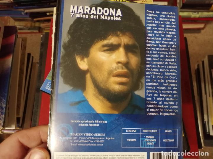 Coleccionismo deportivo: DIEGO ARMANDO MARADONA EN IMÁGENES . 4 DVDS . NÁPOLES, BARCELONA , ARGENTINA, BOCA JUNIORS. FÚTBOL - Foto 7 - 244704535