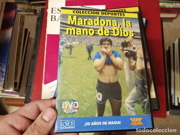 Coleccionismo deportivo: DIEGO ARMANDO MARADONA EN IMÁGENES . 4 DVDS . NÁPOLES, BARCELONA , ARGENTINA, BOCA JUNIORS. FÚTBOL - Foto 8 - 244704535