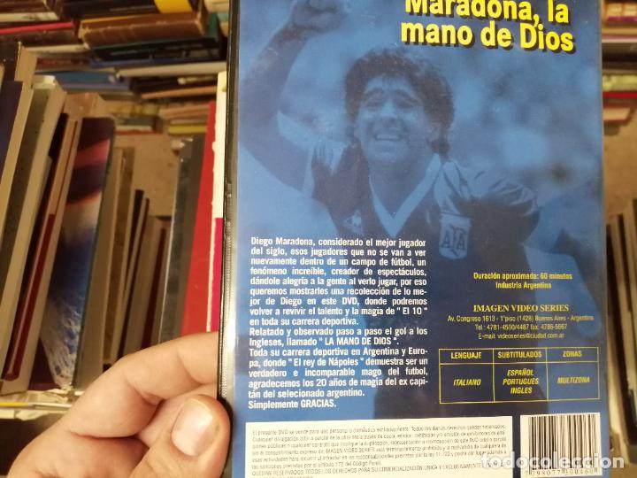 Coleccionismo deportivo: DIEGO ARMANDO MARADONA EN IMÁGENES . 4 DVDS . NÁPOLES, BARCELONA , ARGENTINA, BOCA JUNIORS. FÚTBOL - Foto 9 - 244704535