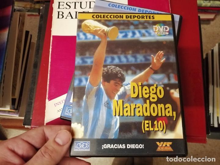 Coleccionismo deportivo: DIEGO ARMANDO MARADONA EN IMÁGENES . 4 DVDS . NÁPOLES, BARCELONA , ARGENTINA, BOCA JUNIORS. FÚTBOL - Foto 10 - 244704535