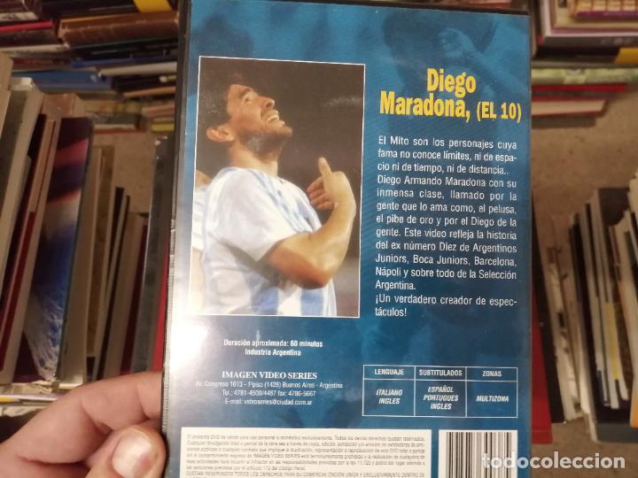 Coleccionismo deportivo: DIEGO ARMANDO MARADONA EN IMÁGENES . 4 DVDS . NÁPOLES, BARCELONA , ARGENTINA, BOCA JUNIORS. FÚTBOL - Foto 11 - 244704535