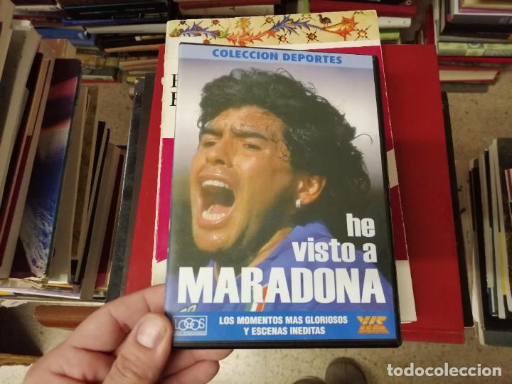 Coleccionismo deportivo: DIEGO ARMANDO MARADONA EN IMÁGENES . 4 DVDS . NÁPOLES, BARCELONA , ARGENTINA, BOCA JUNIORS. FÚTBOL - Foto 12 - 244704535