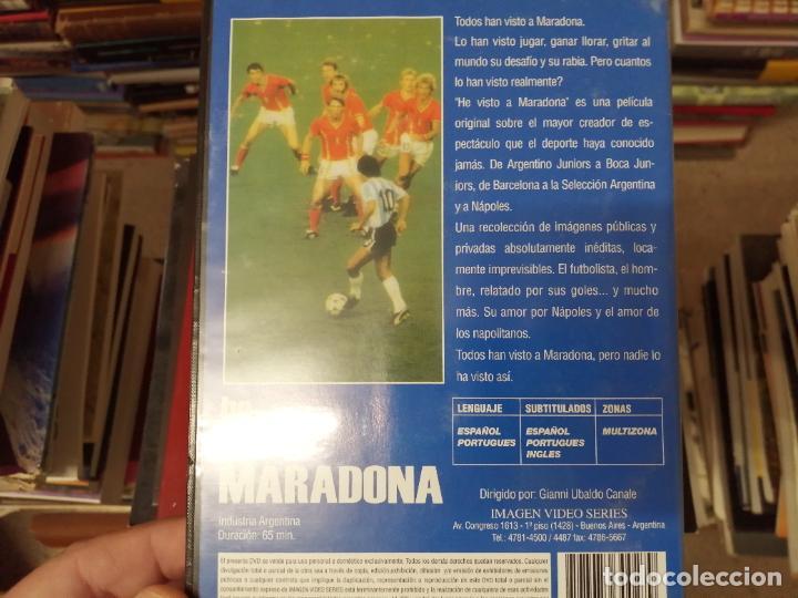 Coleccionismo deportivo: DIEGO ARMANDO MARADONA EN IMÁGENES . 4 DVDS . NÁPOLES, BARCELONA , ARGENTINA, BOCA JUNIORS. FÚTBOL - Foto 13 - 244704535