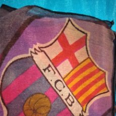 Coleccionismo deportivo: PAÑUELO SEDA FINA FUTBOL CLUB BARCELONA ANTIGUO. Lote 244732640