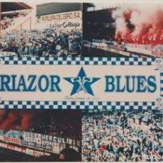 Colecionismo desportivo: FOTOMONTAJE RIAZOR BLUES DEPORTIVO LA CORUÑA ULTRAS HOOLIGANS. Lote 245398385