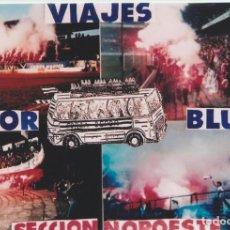 Colecionismo desportivo: FOTOMONTAJE RIAZOR BLUES DEPORTIVO LA CORUÑA ULTRAS HOOLIGANS. Lote 245399200