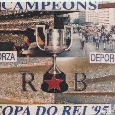 Colecionismo desportivo: FOTOMONTAJE RIAZOR BLUES DEPORTIVO LA CORUÑA ULTRAS HOOLIGANS. Lote 245399385