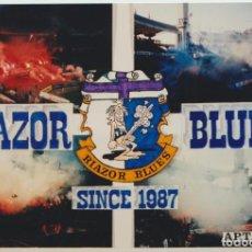 Colecionismo desportivo: FOTOMONTAJE RIAZOR BLUES DEPORTIVO LA CORUÑA ULTRAS HOOLIGANS. Lote 245399505