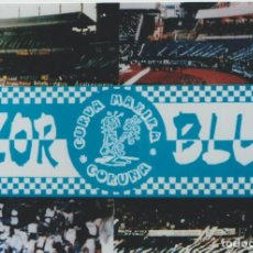 Colecionismo desportivo: FOTOMONTAJE RIAZOR BLUES DEPORTIVO LA CORUÑA ULTRAS HOOLIGANS. Lote 245399715