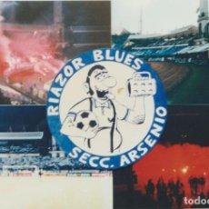 Colecionismo desportivo: FOTOMONTAJE RIAZOR BLUES DEPORTIVO LA CORUÑA ULTRAS HOOLIGANS. Lote 245400205