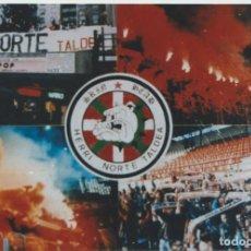 Colecionismo desportivo: FOTOMONTAJE HERRI NORTE ATHLETIC BILBAO ULTRAS HOOLIGANS. Lote 245786760