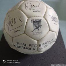 Coleccionismo deportivo: BALÓN ADIDAS REAL FEDERACION ESPAÑOLA DE FUTBOL. Lote 246563025