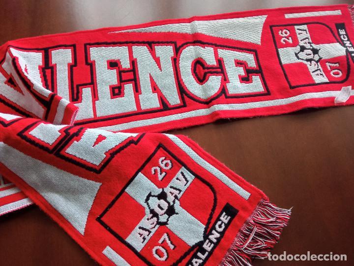VALENCE FRANCE SCARF BUFANDA SCARF FOOTBALL FUTBOL (Coleccionismo Deportivo - Material Deportivo - Fútbol)