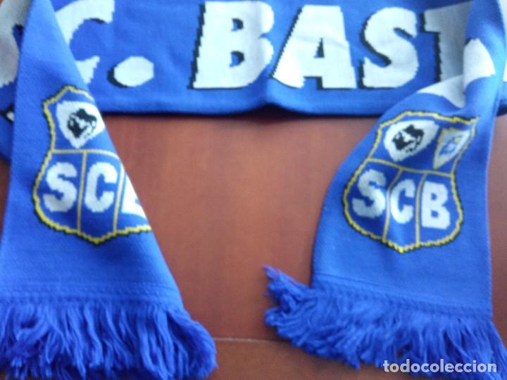 BASTIA FRANCE SCARF BUFANDA SCARF FOOTBALL FUTBOL (Coleccionismo Deportivo - Material Deportivo - Fútbol)