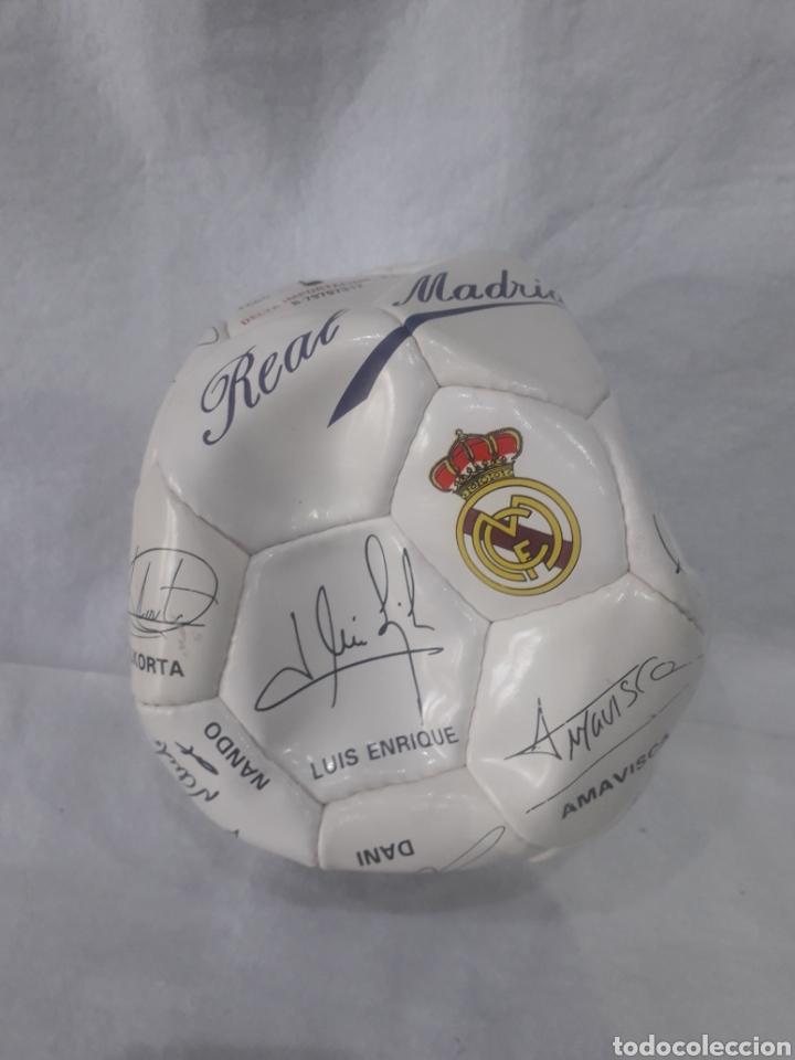 BALÓN REAL MADRID FIRMADO (Coleccionismo Deportivo - Material Deportivo - Fútbol)