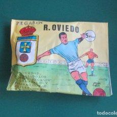 Coleccionismo deportivo: SOBRE SORPRESA FUTBOL PEGASIN REAL OVIEDO. Lote 254122005