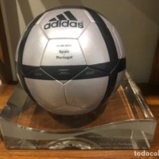 Coleccionismo deportivo: ADIDAS ROTEIRO OFFICIAL MATCH BALL USED IN SPAIN-PORTUGAL, ALVALADE EURO 2004 LISBON 20.06.2004.. Lote 255375015