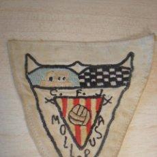 Coleccionismo deportivo: ANTIGUO PARCHE DE FUTBOL CLUB DE MOLLERUSA , AÑOS 50-60. Lote 255509815