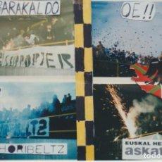Coleccionismo deportivo: FOTOMONTAJE INDAR HORIBELTZ BARAKALDO ULTRAS HOOLIGANS. Lote 277613623