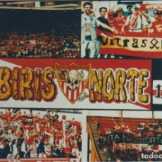 Collezionismo sportivo: FOTOMONTAJE BIRIS NORTE SEVILLA ULTRAS HOOLIGANS. Lote 261114845