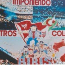 Collezionismo sportivo: FOTOMONTAJE BIRIS NORTE SEVILLA ULTRAS HOOLIGANS. Lote 261114910