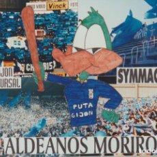 Coleccionismo deportivo: FOTOMONTAJE SYMMACHIARII OVIEDO ULTRAS HOOLIGANS. Lote 277613633