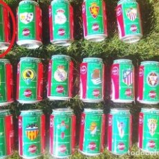 Coleccionismo deportivo: LATA COCA COLA LIGA 96/97 LOGO.. Lote 261331530