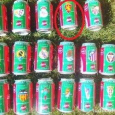 Coleccionismo deportivo: LATA COCA COLA LIGA 96/97 REAL ZARAGOZA. Lote 261331955