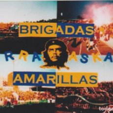 Coleccionismo deportivo: FOTOMONTAJE BRIGADAS AMARILLAS CÁDIZ ULTRAS HOOLIGANS. Lote 261936455