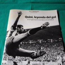 Coleccionismo deportivo: QUINI LEYENDA DEL GOL. Lote 262025915
