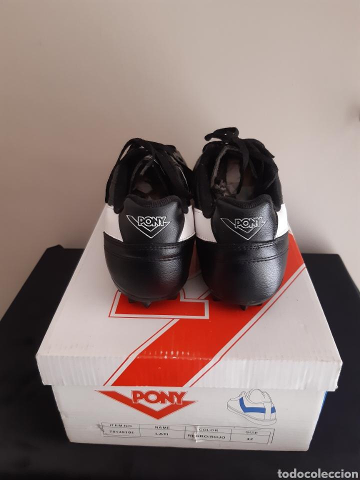 Coleccionismo deportivo: Zapatos/botas de futbol Pony Multitaco. - Foto 3 - 262519040