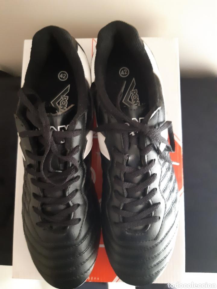 Coleccionismo deportivo: Zapatos/botas de futbol Pony Multitaco. - Foto 5 - 262519040