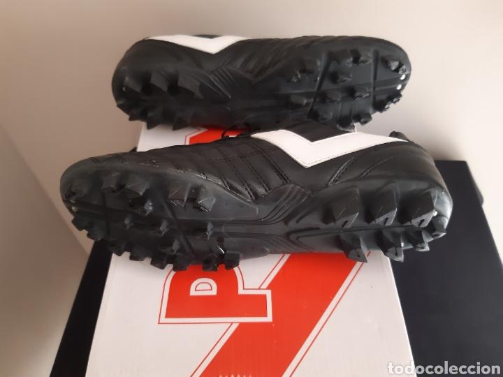 Coleccionismo deportivo: Zapatos/botas de futbol Pony Multitaco. - Foto 7 - 262519040
