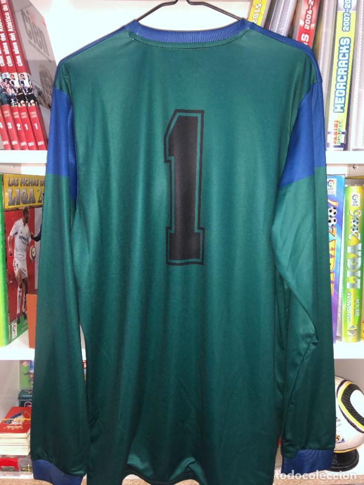 Coleccionismo deportivo: Camisetas ESPAÑA vintage ARCONADA reedicion - Foto 4 - 262521255