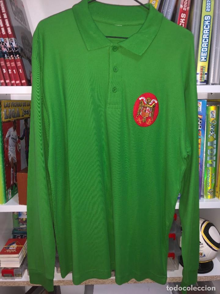 Coleccionismo deportivo: Camisetas ESPAÑA vintage ARCONADA reedicion - Foto 5 - 262521255