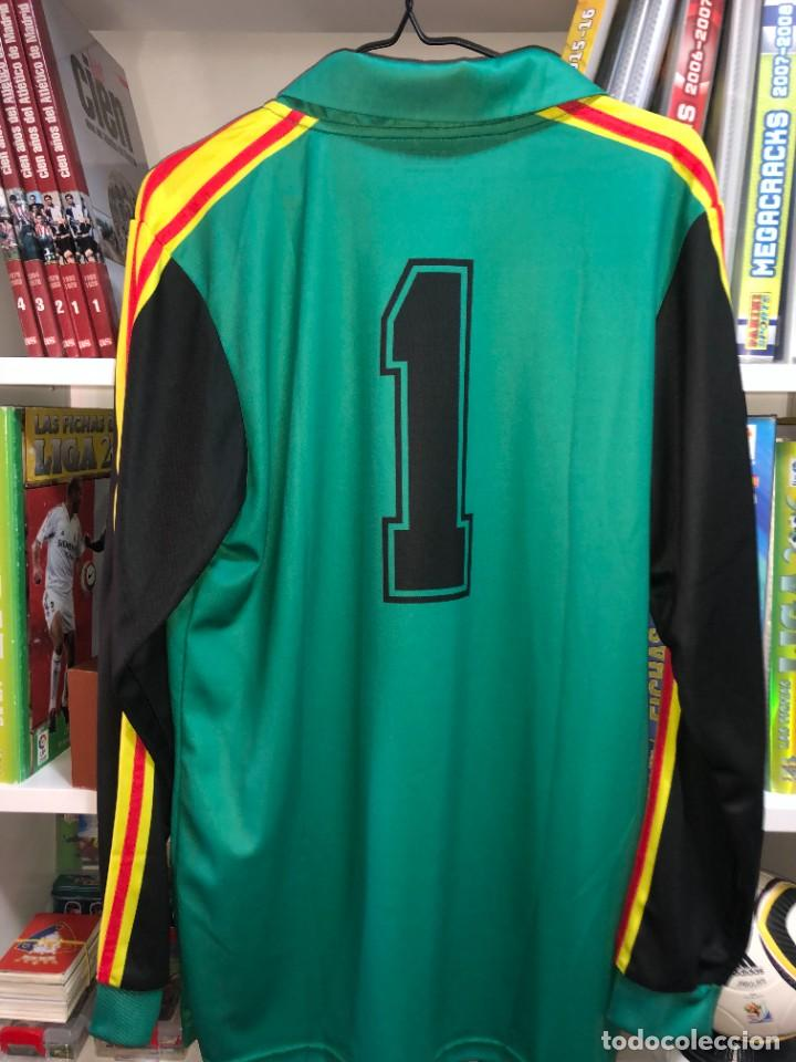 Coleccionismo deportivo: Camisetas ESPAÑA vintage ARCONADA reedicion - Foto 8 - 262521255