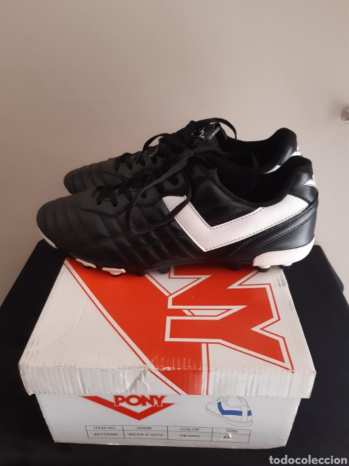 Coleccionismo deportivo: Zapatos/botas de futbol Pony Multitaco. - Foto 3 - 262523865