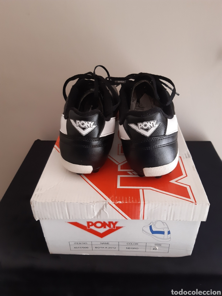 Coleccionismo deportivo: Zapatos/botas de futbol Pony Multitaco. - Foto 4 - 262523865