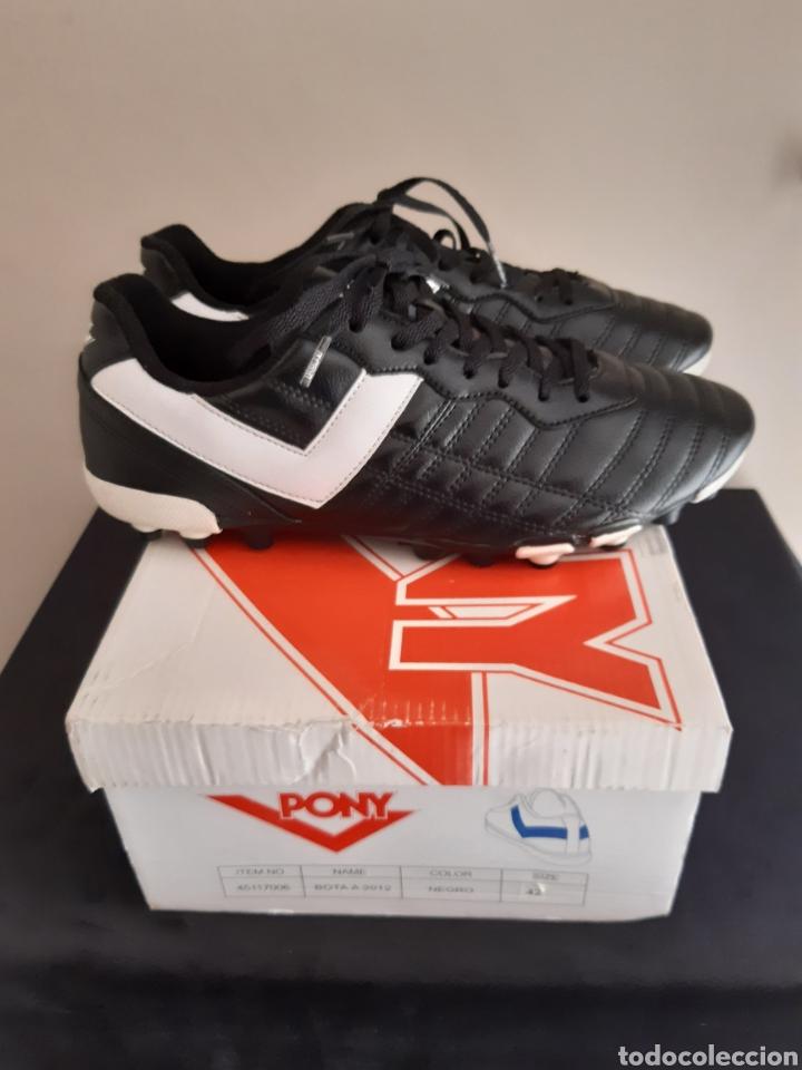 Coleccionismo deportivo: Zapatos/botas de futbol Pony Multitaco. - Foto 5 - 262523865