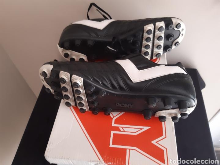 Coleccionismo deportivo: Zapatos/botas de futbol Pony Multitaco. - Foto 7 - 262523865