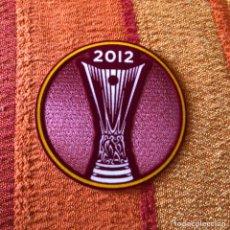 Coleccionismo deportivo: PARCHE ORIGINAL ATLETICO DE MADRID CAMPEÓN UEFA 2012. Lote 262567550