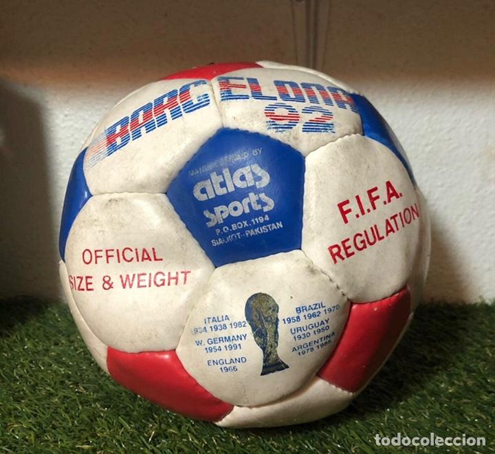 BALON JUEGOS OLÍMPICOS BARCELONA 1992 (Coleccionismo Deportivo - Material Deportivo - Fútbol)
