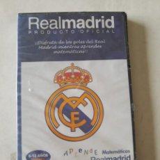 Coleccionismo deportivo: CD-ROM PC APRENDE MATEMATICAS CON EL REAL MADRID - 6-12 AÑOS PRIMARIA. NUEVO. Lote 263020285