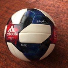 Coleccionismo deportivo: MINI BALON QUESTRA NATIVO MLS 2019 LIGA EEUU. Lote 263243455