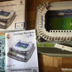 Coleccionismo deportivo: MAQUETA ESTADIO SANTIAGO BERNABÉU PUZZLE 3D. Lote 263244845