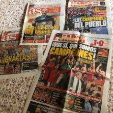 Coleccionismo deportivo: PERIÓDICOS ESPAÑA CAMPEONES DEL MUNDO 2010. Lote 263245575