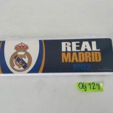 Coleccionismo deportivo: ESTUCHE DEL REAL MADRID. Lote 264102515