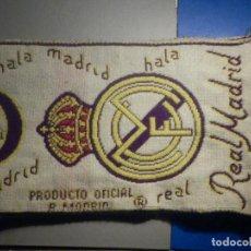 Coleccionismo deportivo: BUFANDA - FOULARD - F.C. - FUTBOL CLUB - REAL MADRID - PRODUCTO OFICIAL - 19 X 1,40 CM - HALA MADRID. Lote 265455869